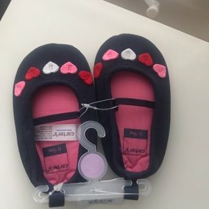 Brand new Carter's 6-9m girl shoes